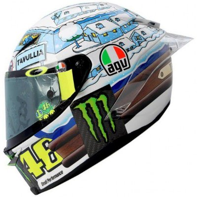 Capacete Agv Pista Gp R Winter Test 2017