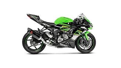 Ponteira Akrapovic COM LINK Kawasaki zx6R/636