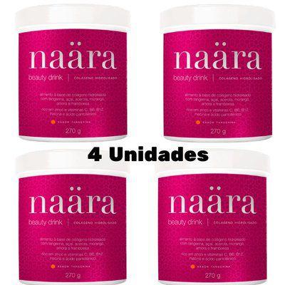 Naara Beauty Drink  JEUNESSE - Colágeno Hidrolisado (4 Unidades)