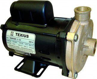 Bomba para circulação de água quente TEXIUS - TBHWS-BR • 1/2CV e 1/4CV • 220V