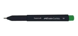 CANETA FABER CASTELL SUPERSOFT PEN 1.0MM VERDE