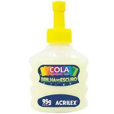 COLA BRILHA NO ESCURO ACRILEX 95G