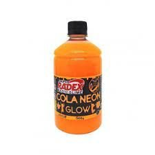 COLA GLOW SLIME LARANJA NEON 500G - RADEX