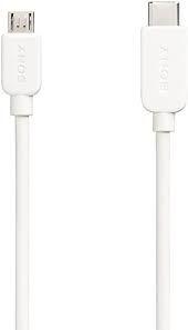 CABO USB C/MICRO SONY CP-CB100 1M C/ ADAP TIPO C