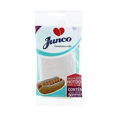 SACOS PLASTICO P/HOT DOG C/50 UN