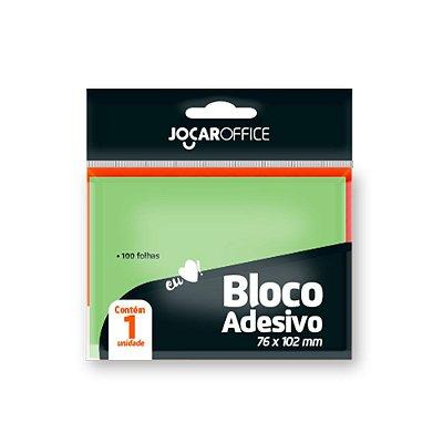 BLOCO POST-IT 76X102MM VERDE LEO&LEO