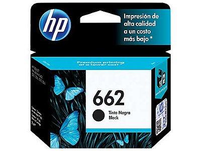 CARTUCHO HP 662 CZ103AB S/2516 PRETO ORIGINAL