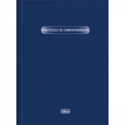 LIVRO PROTOCOLO DE CORRESPONDENCIA 104 FOLHAS
