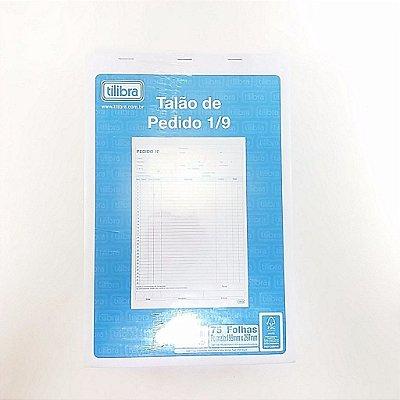 TALÃO DE PEDIDO 1/9 75F 199X297