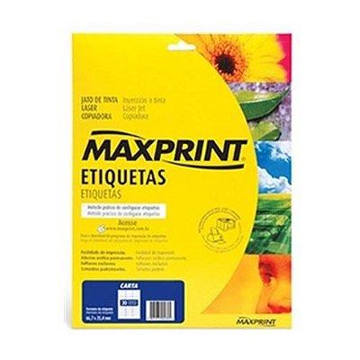 ETIQUETA LASER REF.6089 MAXPRINT 16,93X44,45 10 FLS