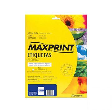 ETIQUETA LASER REF.6281 MAXPRINT 25FLS