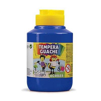 TINTA TEMPERA GUACHE 250ML 501 AZ.TURQUESA ACRILEX