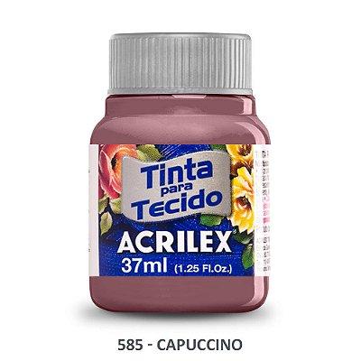 TINTA P/TECIDO ACRILEX REF:585 CAPUCINO