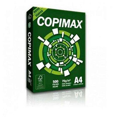 PAPEL SULFITE A4 75GR 500FLS COPIMAX 210 NOVO