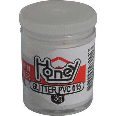 GLITTER PVC CRISTAL POTES 3G HONEY