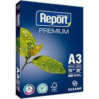 PAPEL SULFITE A3 REPORT 75GR 500FLS