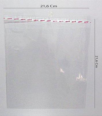 SACO TRANSP. 21,5X21,5 C/LACRE UND CROMUS