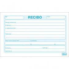 RECIBO COMERCIAL S/CANHOTO PEQ. 50F