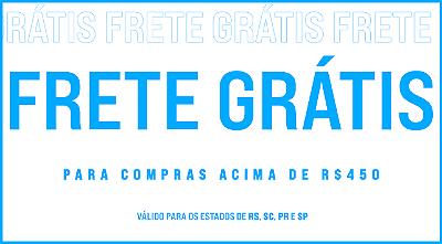 Frete Grátis 300,00