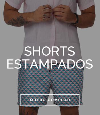 Short estampado