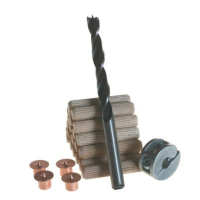 Wolfcraft - Conjunto para cavilhar de ø 8 mm  (Centralizadores de Cavilha) - 28 pçs 2917000