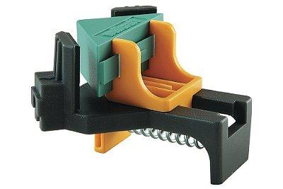 Wolfcraft – Gabarito - Clip Angular para fixação em 90º (2 pçs., de plástico) Tipo Corner Clamp - [2 ES 22] 3051000