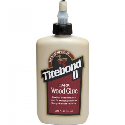 Titebond – Cola para Madeira Titebond II Dark Wood Glue - 237ml (3703)