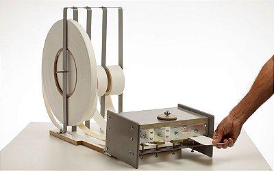 Maqanbi - Aplicador de cola em fitas de borda (p/ 4 fitas: 22, 35, 45, 64 mm) RV-RMAQ A04