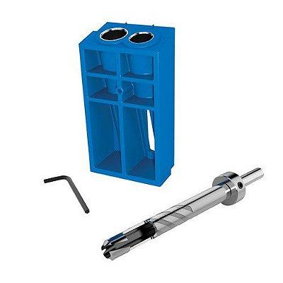 Kreg - Gabarito p/ Produção de Tapa Furo - Acessório c/ Broca p/ fazer cavilhas Plug Cutter [KPCS]