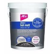 """AFIX - Colas granuladas HOT MELT - 1814 """"Transparente"""" Balde 2,5 kg"""