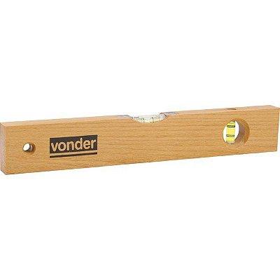 """Nível de madeira 14"""" - 355 mm - VONDER"""