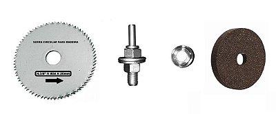 Kerbus - (Kit) Acessórios para Suporte Furadeira 3x1 - c/ 4 peças