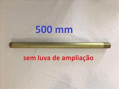 J.A.B - Cano para Pipe Clamp 500mm  (SEM LUVA)