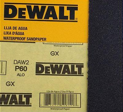 DeWalt - Lixa Agua Oxido de Aluminio G  60 230x280mm