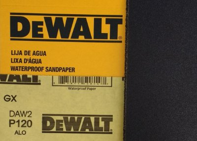 DeWalt - Lixa Agua Oxido de Aluminio G 120 230x280mm