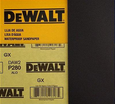 DeWalt - Lixa Agua Oxido de Aluminio G 280 230x280mm