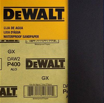 DeWalt - Lixa Agua Oxido de Aluminio G 400 230x280mm