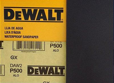 DeWalt - Lixa Agua Oxido de Aluminio G 500 230x280mm