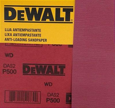 DeWalt - Lixa Seco Estearato G 500  230x280mm