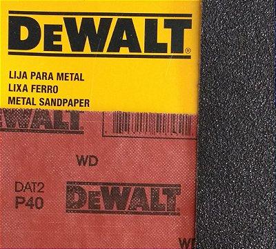 DeWalt - Lixa Ferro G  40 230x280mm