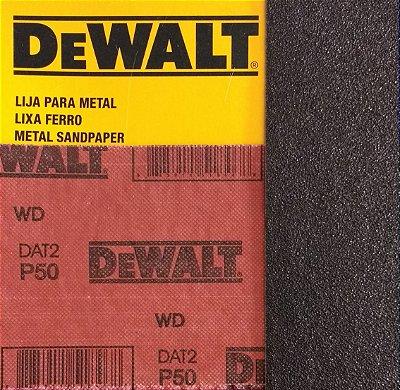 DeWalt - Lixa Ferro G  50 230x280mm