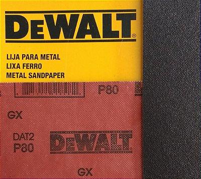DeWalt - Lixa Ferro G  80 230x280mm