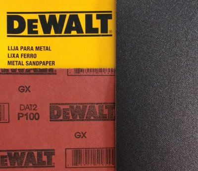 DeWalt - Lixa Ferro G 100  230x280mm