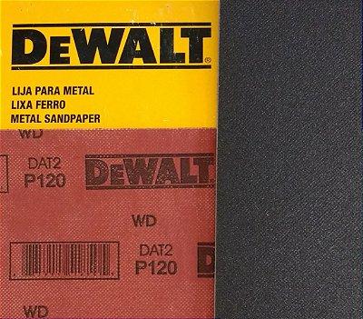 DeWalt - Lixa Ferro G 120 - 230x280mm