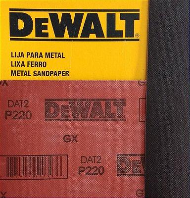 DeWalt - Lixa Ferro G 220 230x280mm