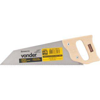 """Serrote de ponta 13"""" (330 mm), profissional, para gesso e drywall, 7 dentes p/ pol - VONDER"""