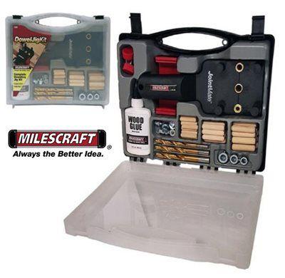 Milescraft - Dowel Jig Kit 1359 - Maleta combo completa para Cavilhas