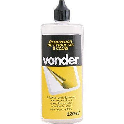 VONDER - Removedor de etiquetas e colas 120 ml