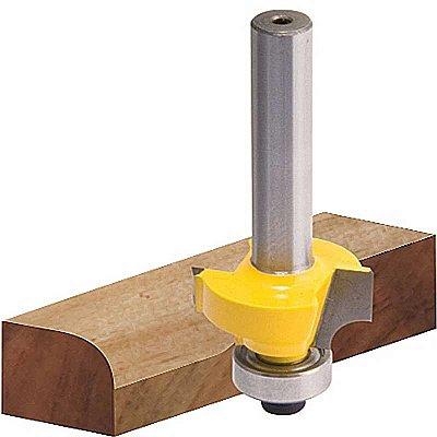 VONDER - Fresa com dentes de metal duro, quebra canto com rolamento, 18 mm