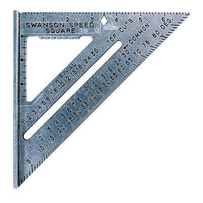 Swanson - Esquadro - 7 polegadas. - S0101 - Speed® Square 7 in. size